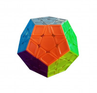 Кубик 0934C-4 QiYi X-Man Megaminx (Sculpture Stickerless) 8см, в кор-ке, 9,5-7,5-13,5см