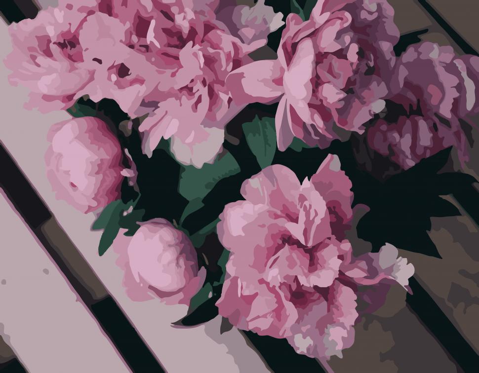 """Картина по номерам. Art Craft """"Пион Катарина"""" 40*50 см 13110"""