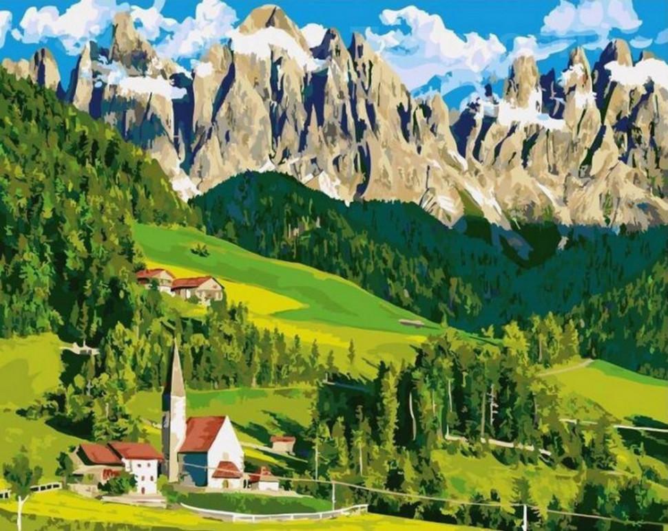 домик в альпах купить